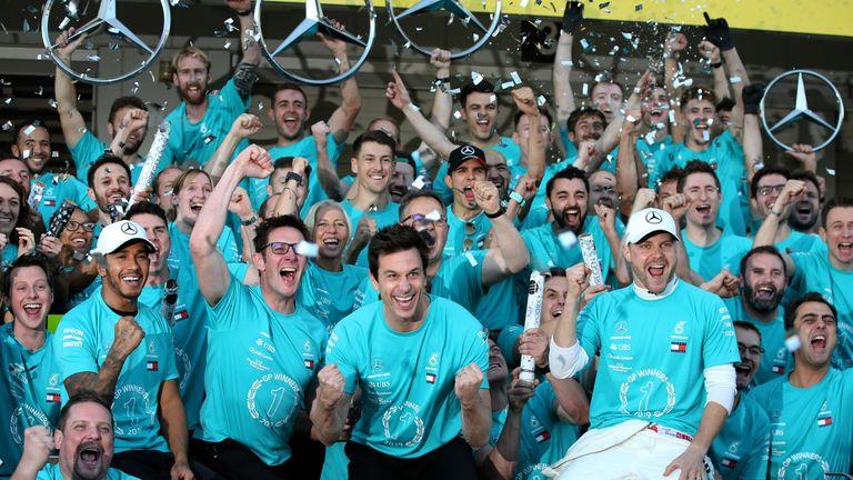 Valtteri Bottas Victorious in Japan, Mercedes Bags Constructors' Title