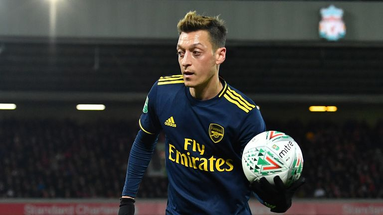 Ozil will be expected to return to the first-team fold in the Premier League