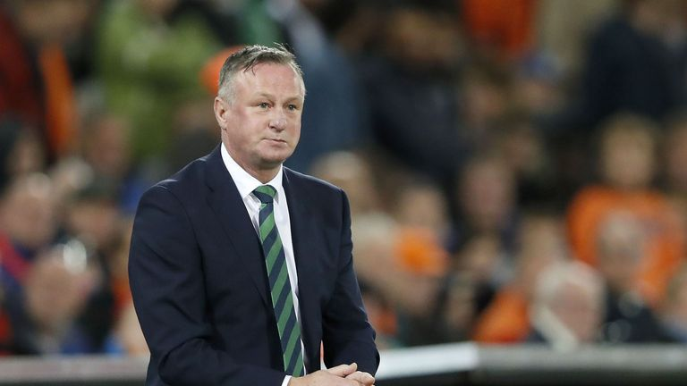 Michael O'Neill criticises Ronald Koeman's claims about Northern Ireland's approach