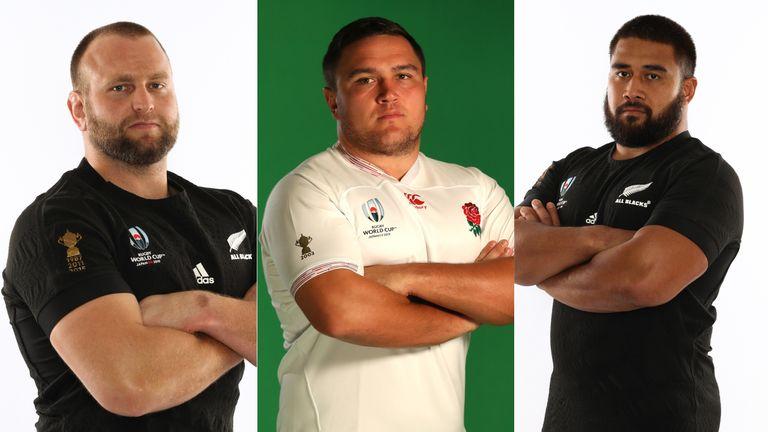 Sean Fitzpatrick's front row: 1 Joe Moody; 2 Jamie George; 3 Nepo Laulala