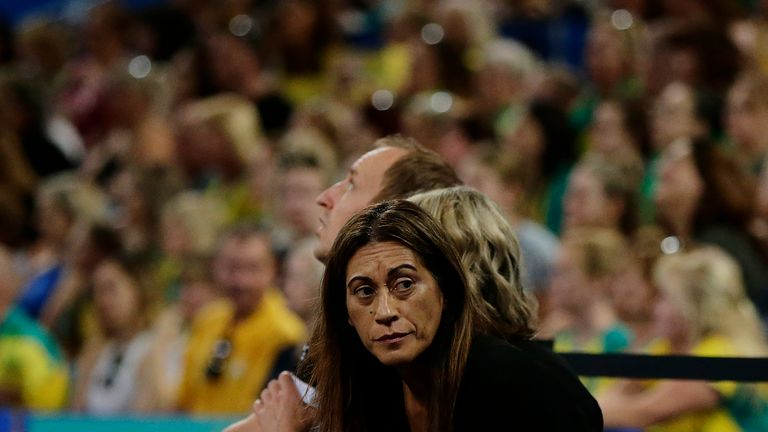 Noeline Taurua was displeased with the  way in which the match was officiated