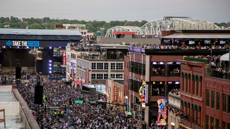 The 2019 NFL Draft attracted thousands on the streets of Nashville in addition to the millions watching at home