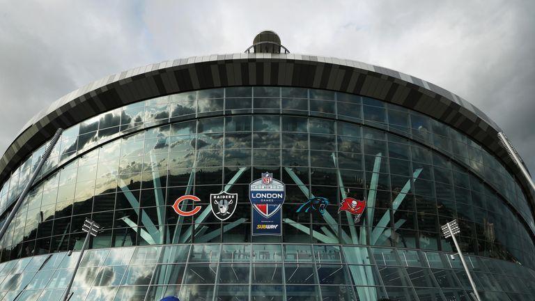 Tottenham Hotspur Stadium is hosting two NFL games this season