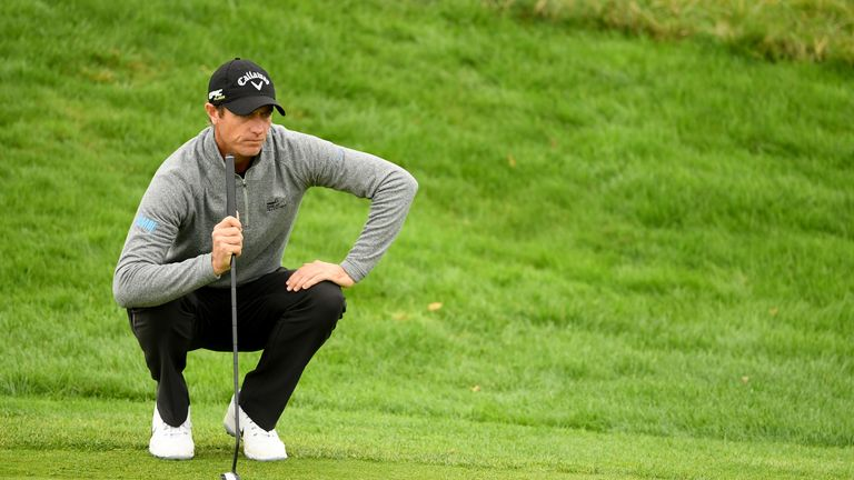Colsaerts will be in the final group again on the final round