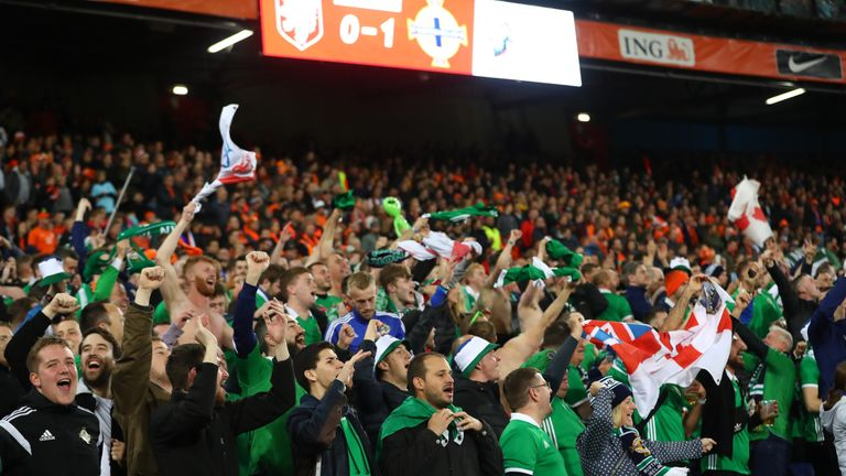 Northern Ireland fans subjected to 'dangerous' crowding in Netherlands