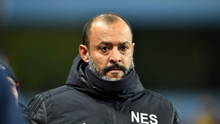 Nuno Espirito Santo has impressed with the work he'd done at Wolves