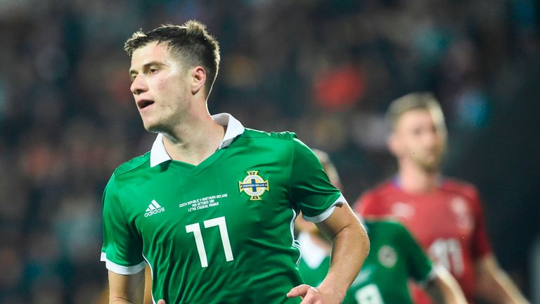 Czech Republic 2-3 Nothern Ireland: Paddy McNair scores twice as visitors survive fightback