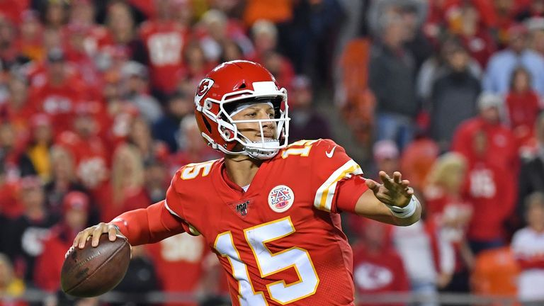 Patrick Mahomes tweaked his ankle in the loss to the Indianapolis Colts