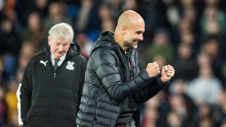 Pep Guardiola was delighted to see his side return to winning ways