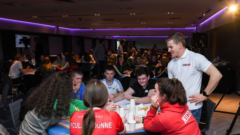 More than 400 young players from all 32 counties in Ireland participated in Saturday's GAA Youth Forum, which is held in partnership with Sky Sports