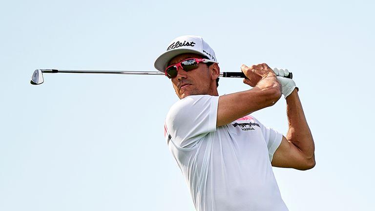Rafa Cabrera Bello shares the halfway lead with Adri Arnaus