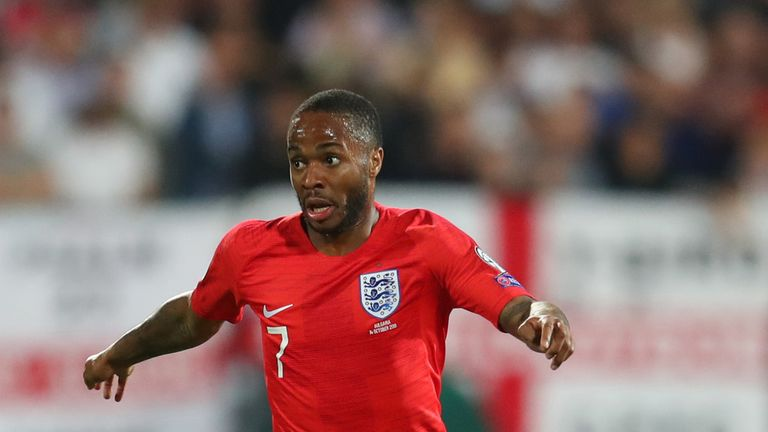 Raheem Sterling was among the England players subjected to racist abuse in Bulgaria