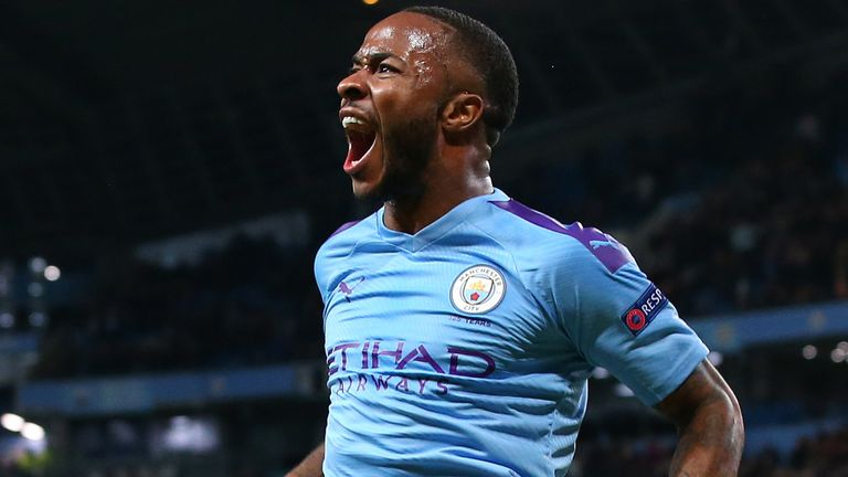 Since joining City Sterling has won the Premier League title twice