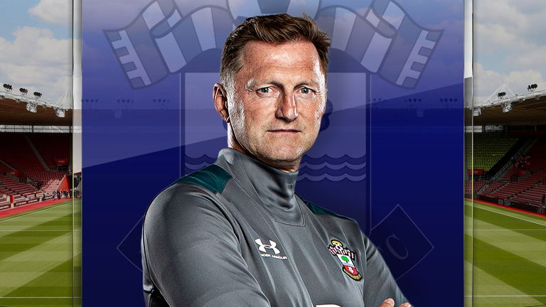 Southampton manager Ralph Hasenhuttl spoke exclusively to Sky Sports