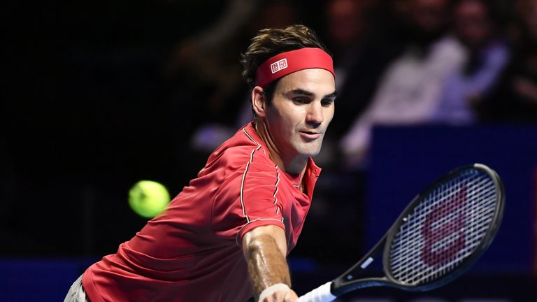 Roger Federer closing in on 10th Swiss Indoors Basel as Dan Evans is knocked out | Tennis News |