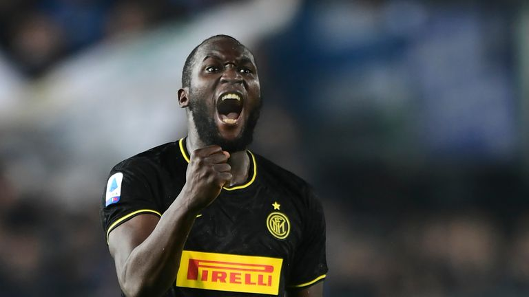Romelu Lukaku has seven goals in Serie A this season