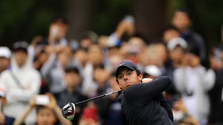 McIlroy ended the season as PGA Tour Player of the Year ahead of Koepka
