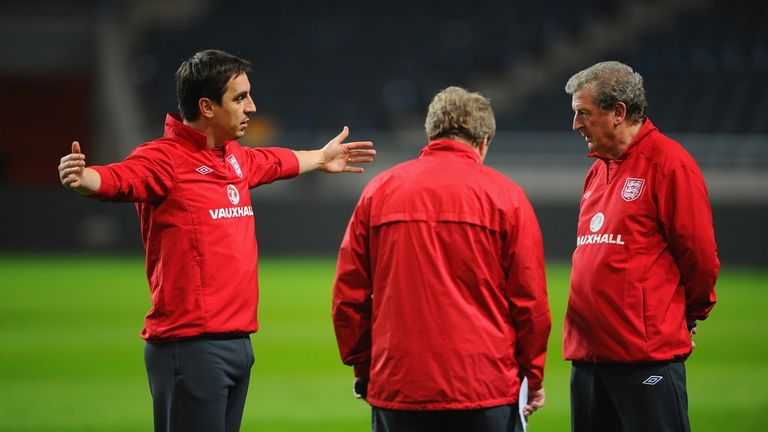 Hodgson worked with Neville for England for four years