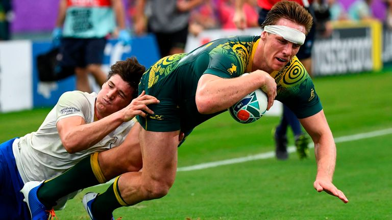 Dane Haylett-Petty took his tally to three tries in two games