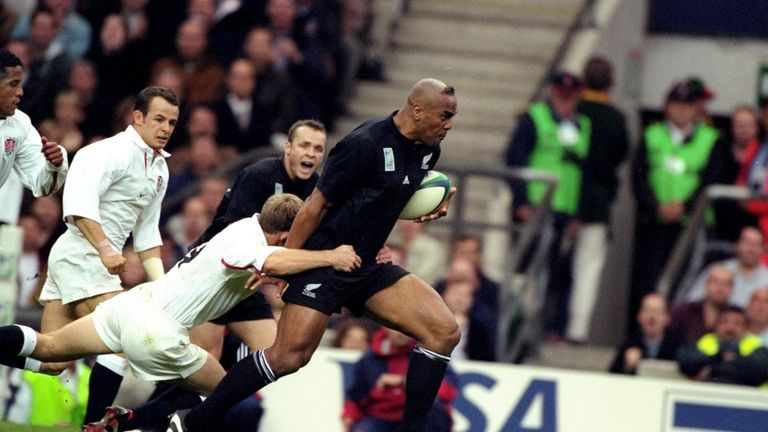 Jonah Lomu played against England at the 1995 and 1999 World Cups
