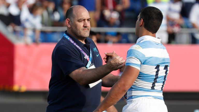 Mario Ledesma discusses Argentina future after Rugby World Cup exit