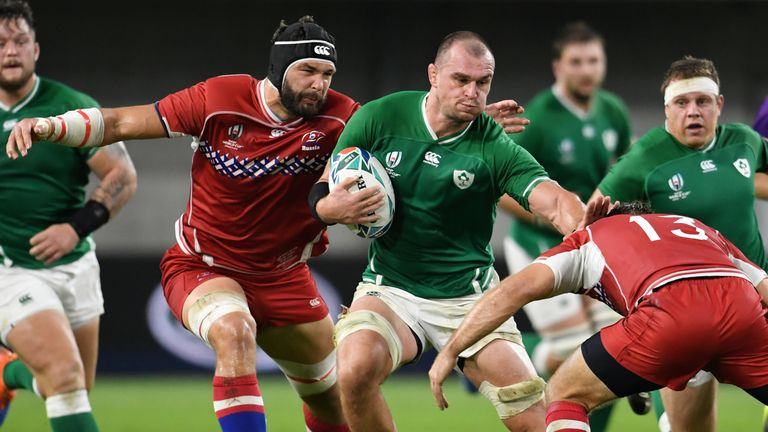Rhys Ruddock's performance was one of the few positives for Ireland against Russia