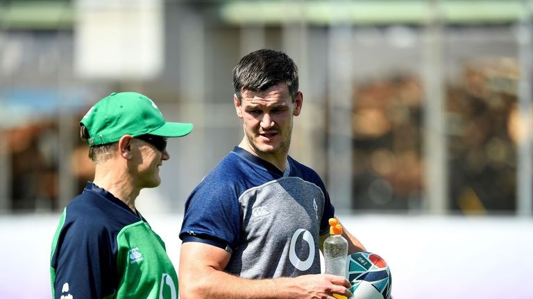 Ireland will clinch a quarter-final spot with victory over Samoa on Saturday