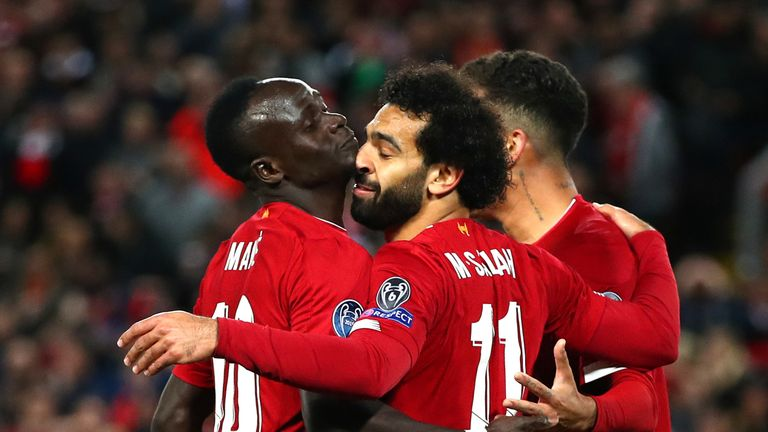 Mohamed Salah's second-half strike helped defending champions Liverpool avoid a fright