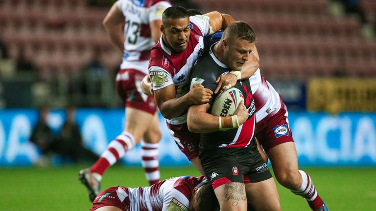 Super League Grand Final: Josh Jones front and centre for Salford Red Devils | Rugby League News |