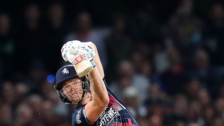 Sam Billings was the second pick of the night for Oval Invincibles