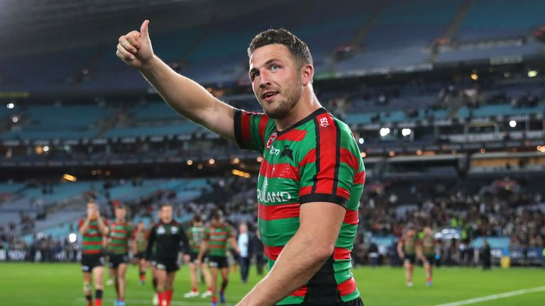 Sam Burgess has brought the curtain down on his playing career