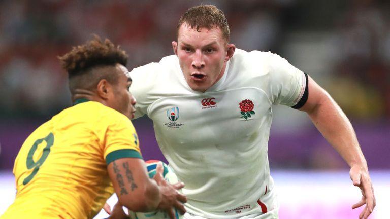 Sam Underhill was an imposing presence for England against Australia