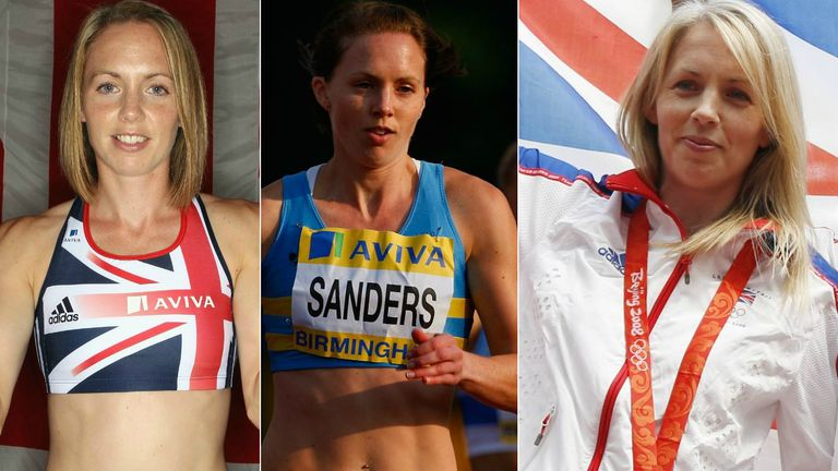 Nicola Sanders won Olympic and World medals during a gliittering athletics career