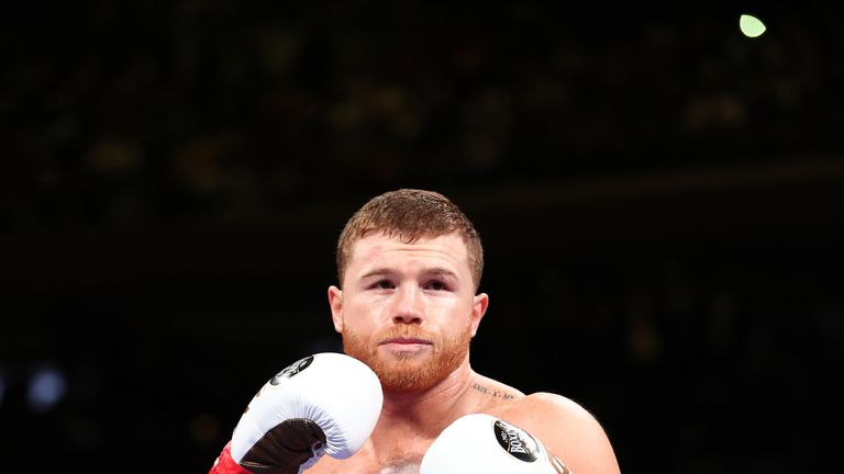 Canelo Álvarez becomes a four-weight world champion with New York KO