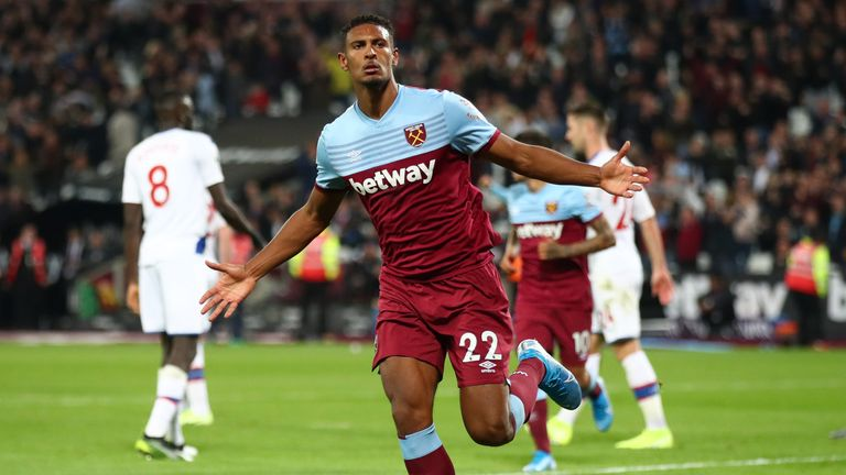 Sebastien Haller started well but the goals have dried up