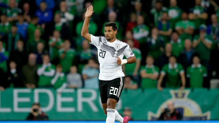Gnabry has become a key player for Germany and Bayern Munich