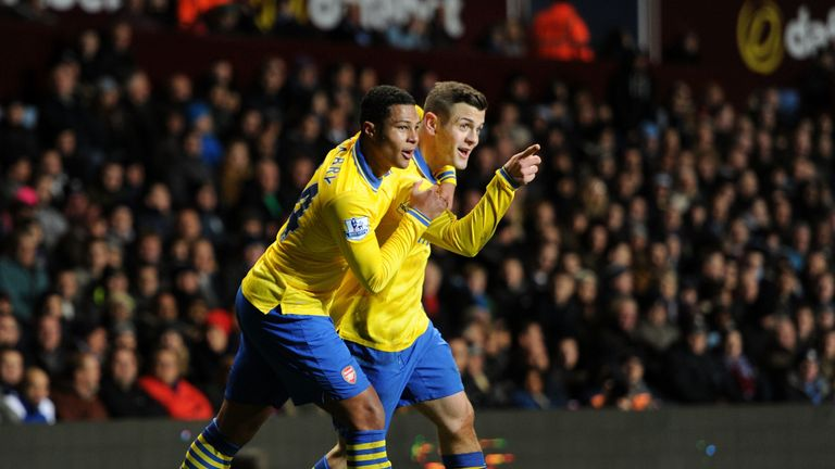 Gnabry became Arsenal's second youngest Premier League player behind Jack Wilshere in 2012