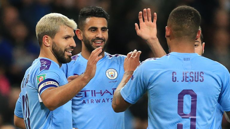Holders Manchester City beat Southampton in the fourth round