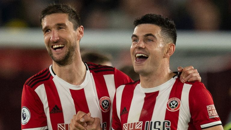 Sheffield United beat Spurs' North London rivals Arsenal last month