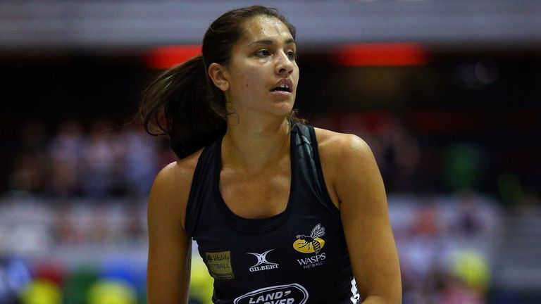 Sophia Candappa is returning for a fifth season with Wasps Netball