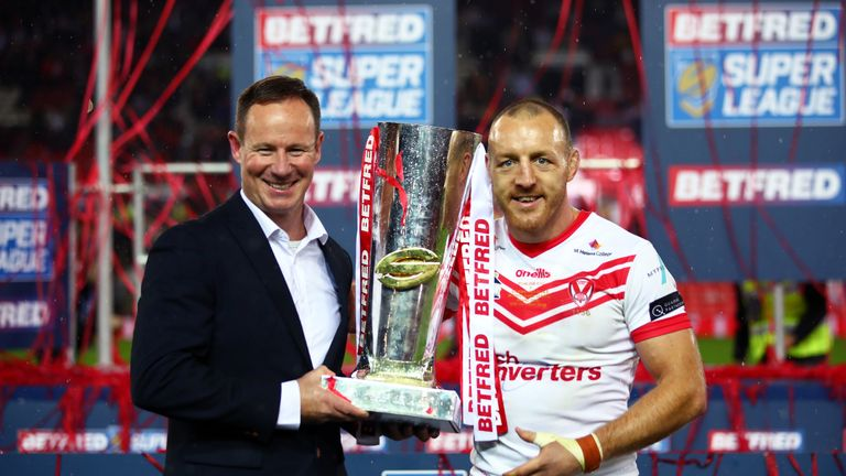 James Roby was full of praise for Justin Holbrook after St Helens' Grand Final triumph