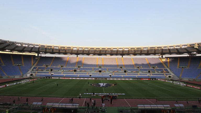 Celtic's Europa League match against Lazio in Rome will be subject to a partial stadium closure