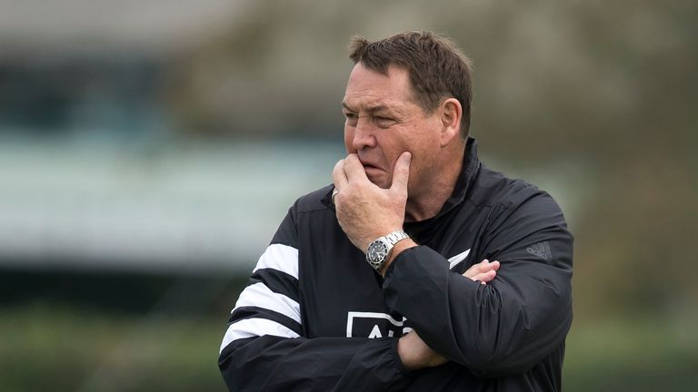 Steve Hansen could hand the torch immediately to a new generation on Friday