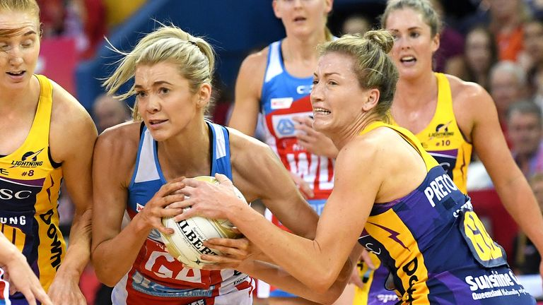 The latter stages of Suncorp Super Netball were officiated by just a couple of key umpires for the matches