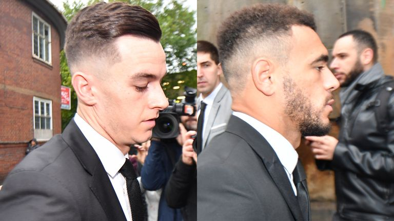 Derby's Tom Lawrence and Mason Bennett were convicted of drink driving after a players' party in September