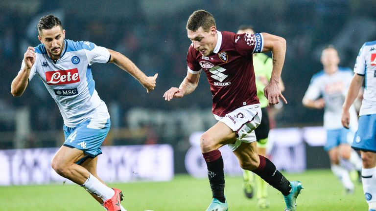 Napoli were held to a 0-0 draw by Torino in Serie A