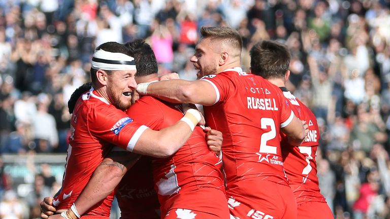 Watch highlights as Toronto Wolfpack clinched an historic promotion to Super League