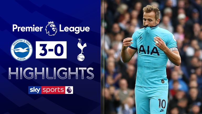 FREE TO WATCH: Highlights from Brighton's Premier League win over Tottenham
