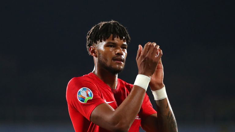 Tyrone Mings made his England debut last time out