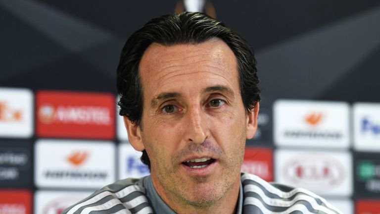 Unai Emery replaced Wenger at Arsenal, but could not take them back to the top four last season